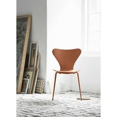 In Arne Jacobsen set a new standard for chair design when he created Series - a design fit for the future. The most sold stackable chair in design history, it has become a style icon and is seen by many as one of the Copenhagen Hotel, Fritz Hansen, Arne Jacobsen, Scandinavian Living, Stackable Chairs, Chairs For Sale, Egg Chair, Chair Design, Timeless Design