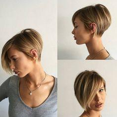 "3,528 Likes, 48 Comments - Short Hair Ideas (@short_hair_ideas) on Instagram: ""WoW 🌴🌴🌴 😍#Hairstyle #pixiehair #hairs #hairfashion #newhaircut #instacool #shorthairideas…"""