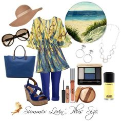 "Polyvore Summer Plus Size | Summer Lovin', Plus Size"" by redheaded-diva on Polyvore"