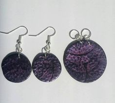 https://www.etsy.com/listing/553809991/purple-and-black-circle-jewelry-set
