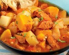 Portuguese Sausage Stew