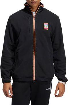 $67.5. ADIDAS ORIGINALS Jacket Adiplore 2.0 Polar Fleece Track Jacket #adidasoriginals #jacket #clothing