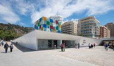 In 2015, around 70 works from the Centre Pompidou's collection are planned to go on show in a temporary glass-and-steel structure called The Cube (El Cubo) in M... Get more information about the Centre Pompidou Málaga on Hostelman.com #attraction #Spain #museum #travel #destinations #tips #packing #ideas #budget #trips
