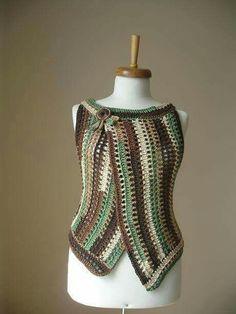 Fabulous Crochet a Little Black Crochet Dress Ideas. Georgeous Crochet a Little Black Crochet Dress Ideas. Gilet Crochet, Freeform Crochet, Knit Or Crochet, Crochet Scarves, Lace Knitting, Crochet Clothes, Easy Crochet, Crochet Crafts, Irish Crochet