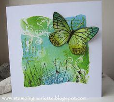 Stamping Mariëtte - Gorgeous card!