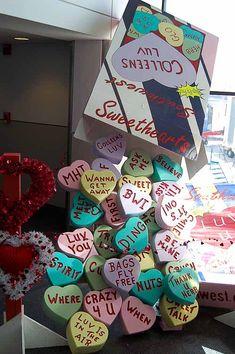 valentine-heart-candy-DIY-sculpture