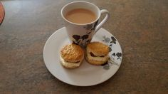 Nothing beats a good cup of tea and a freshly baked scone on a sunday afternoon.