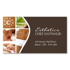 Elegant spa business card beauty salon spa businesses make a terrific first impression with this salon and spa business card customise this design as your own just in minutes reheart Choice Image