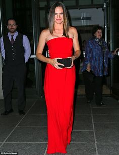 Jennifer Garner in Gucci at the New York premiere of Butter