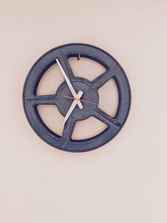 Cinema Clock: Zegar 004  z Kina Neptun z Gdańska