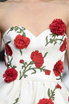 Oscar de la Renta   Flowers in fashion