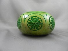 Chip Carved Gourd Bowl by wetdogstudios on Etsy, $55.00