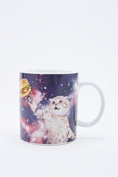 """Becher """"Cat in Space"""""""