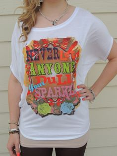 Trailer Park Trinkets  - Never Let Any One Dull Your Sparkle, $44.95 (http://www.trailerparktrinkets.com/never-let-any-one-dull-your-sparkle/)