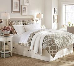 Master #Bedroom #decor #inspiration to help you create you dream room that's laden in comfort.