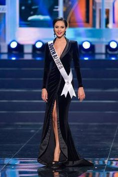 South Africa - Miss Universe 2013 Evening Gown Preliminary Competition