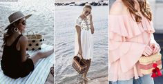 From round hamman towels to slogan hats, summer wouldn't be summer without an array of new beach accessories. And, for a holiday-ready look, this year fashion girls are falling for the cult Nannacay straw bags, complete with pompom detailing.