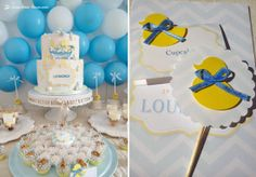 details for this rubber duck themed party