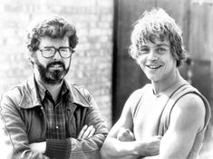 George Lucas and Mark Hamill - Star Wars: Behind the scenes pictures - Digital Spy