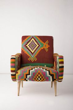 One Of A Kind Berr Armchair Aztec Anthropologie Com