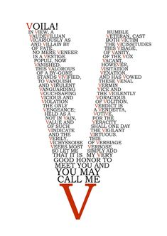 V For Vendetta by charliechaplin42