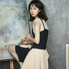 Kong Hyo Jin for Cosmopolitan