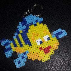 Disney Flounder perler beads by supermom2