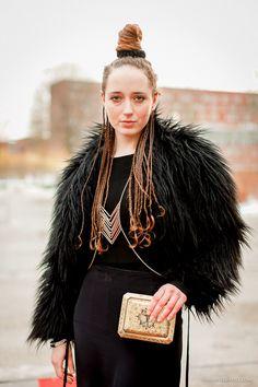 Maartje at the Amsterdam Fashion Week - [ Street Style ] #fashion #streetfashion #streetstyle #womenswear  See original post on www.urbanvisualist.com