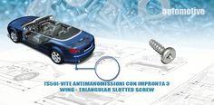 [S50]-VITE ANTIMANOMISSIONI CON IMPRONTA 3-WING - TRIANGULAR SLOTTED SCREW