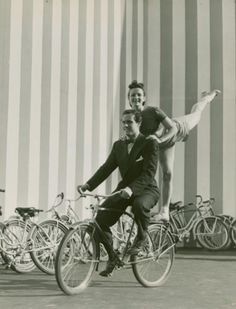 Ray Middleton and Selma Hoffman, performers in American Jubilee, at the 1939-40 New York World's Fair