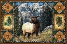 Elk Lodge Tapestry Placemats