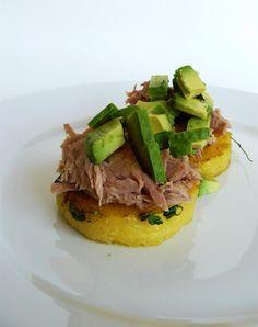 Meal Survivor- Polenta, Tuna & Avocado