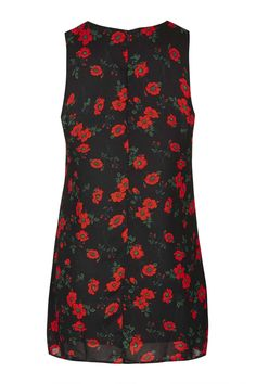 **Tie-Up Front Shift Dress by Glamorous Petites - Brands- Topshop