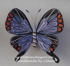 quilled butterflies - hemaartandcraft - Picasa Web Albums