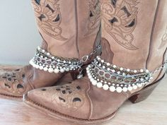 Cowboy Boot Bling. Boot Bracelet. Cowboy Boot by simplyuboutique Love!