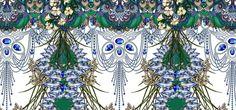 Brazilian Textile Designer   Adriana Barra inspiration  - ❣ Relicário ❣ - makemyworldburn.tumblr.com