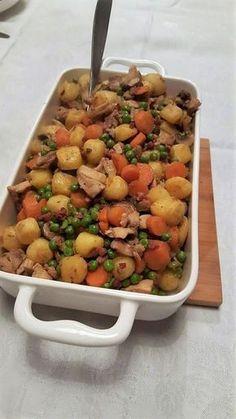 Kip-groenteschotel