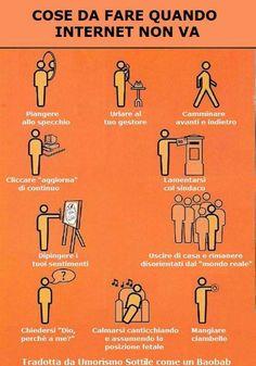COSE DA FARE QUANDO #INTERNET NON VA http://www.ilpeggiodellarete.it/cose-da-fare-quando-internet-non-va/