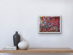 Abstract Canvas Painting - colorful painting - Abstract Art - Abstract Wall Art - Abstract Fine Art - Home Decor - Abstract Decoration -Art by HanaFisherArt on Etsy