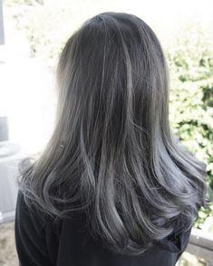 50 Fantastic Silver Ombre Hair Ideas — Precious Locks …, - All For Hair Color Trending Hair Color Asian, Hair Color Purple, Hair Dye Colors, White Ombre Hair, Silver Ombre Hair, Dark Ombre, Red Brown Hair, Ash Brown, Edgy Hair