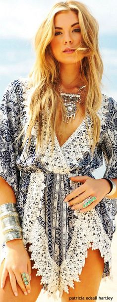Stylish bohemian boho chic outfits style ideas