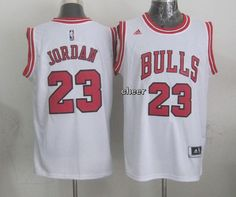 NBA Jerseys Chicago Bulls #23 Jordan white Jerseys