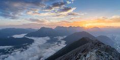Sunrise on Tschirgant - null