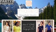 What if one opportunity could change your life? #mialisia #versastyle #jewelry