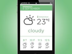 #weather in #ui