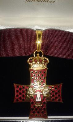 Venera de Comendador de la Orden del Águila de Georgia.