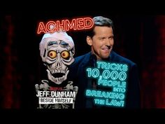Achmed Tricks People into Breaking the Law! Netflix, Jeff Dunham, Comedy Specials, Comedy Show, Dance Moves, Really Funny, Twitter, Comedians, People