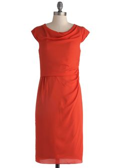 Company Precedent Dress. With your smarts and fashion sense, youre the perfect leader for your exciting enterprise. #red #modcloth