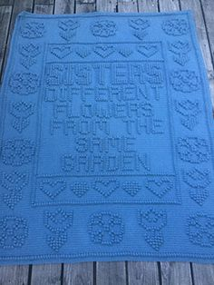 SISTERS pattern by Tricia Crow