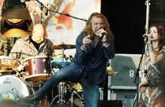 Robert Plant (with Band of Joy and his ex-Patty Griffin)